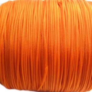 Chinees Knooptouw 0.8mm Oranje (10 meter)