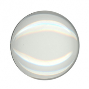 Glas Cabochons Koepel Rond 25mm Flat Back Transparant
