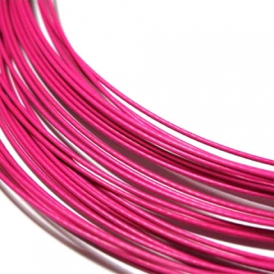 Spang Halsketting Schroefslot 45cm Hot Pink