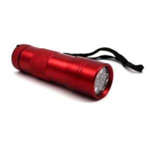 UV Zaklamp - Rood (9 watt)