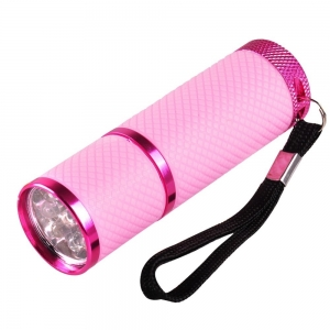 UV Zaklamp - Roze (9 watt)