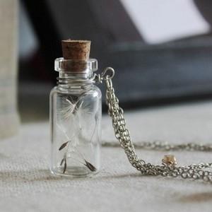 Glazen bolletje/flesje om te vullen